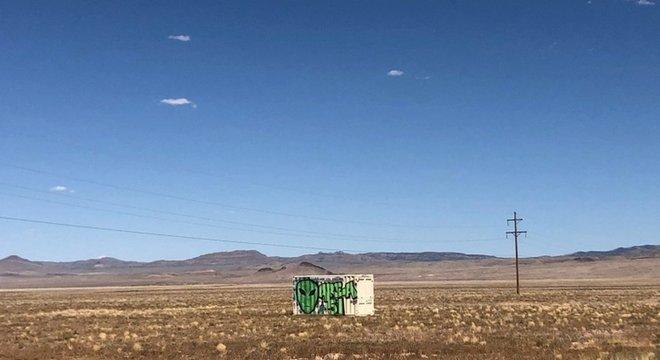 A Área 51 está situada cerca de 48 km ao sul de Rachel, no condado de Lincoln, em Nevada
