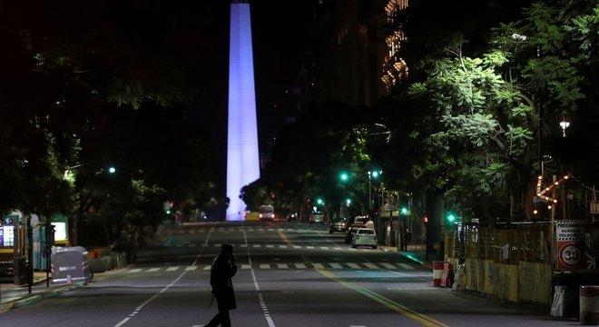 A Argentina anunciou o isolamento social obrigatório em nível nacional devido à crise do coronavírus em 20 de março