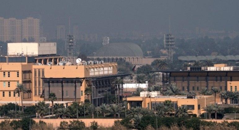 Drone que foi abatido  sobrevoava a embaixada dos EUA em Bagdá