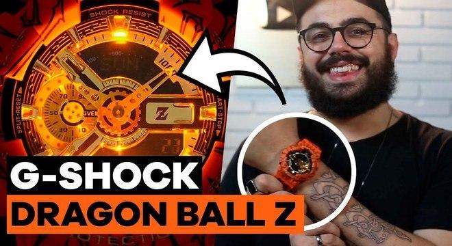 Unboxing do G-Shock do Dragon Ball Z