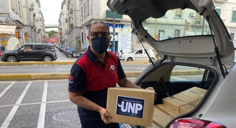 Universal nos Presídios distribuiu 2,2 mil frascos de álcool em gel em Nápoles