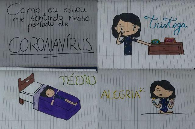 Desenho de Alessandra Albuquerque, 11 anos, Fortaleza/CE