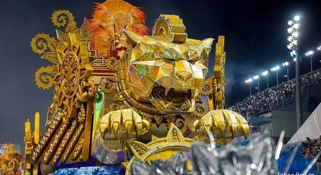 A Unidos de Vila Maria ficou em 4º lugar no Carnaval 2019