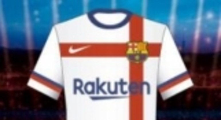 Uniforme branco - Barcelona