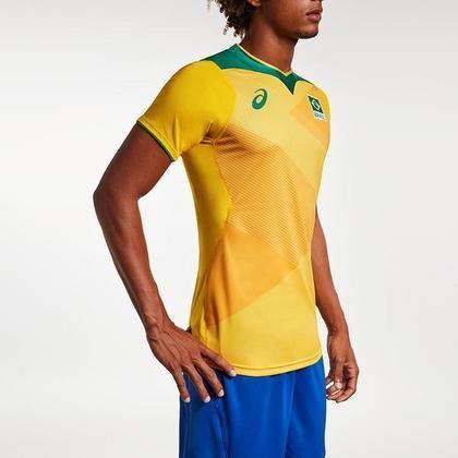 Com a bandeira do Brasil estampada no peito, os jogadores já sabem qual uniforme utilizaram durante as Olimpíadas. As peças foram pensadas de modo a ter alta respirabilidade, mobilidade e facilidade de fixação e desprendimento