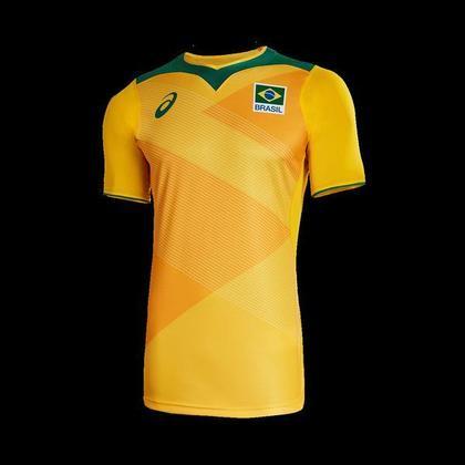 Os atletas das seleções brasileira de vôlei conheceram nesta segunda-feira (10) os uniformes que vão usar nos Jogos Olímpicos Tóquio 2020