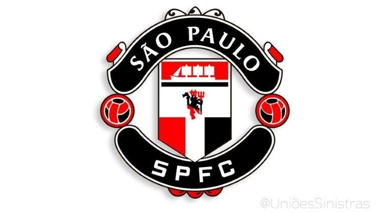 Uniões sinistras - São Paulo e Manchester United (Sãochester Paunited)