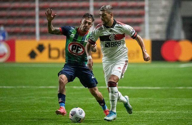 Unión La Calera (CHI) 2x2 Flamengo - 4ª rodada da fase de grupos da Libertadores, no Nicolás Chahuán Nazar: Gabigol e Willian Arão garantiram o empate do Rubro-Negro no Chile