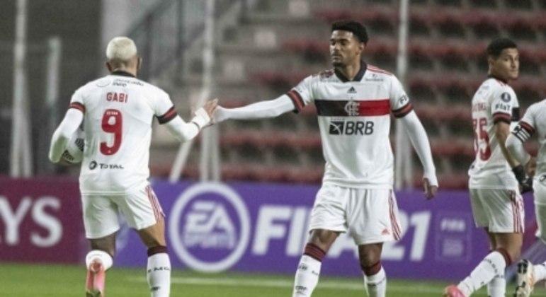 Unión La Calera x Flamengo - Gabi e Bruno Viana