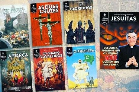 Livros da coleção 'Alberto', da editora Unipro
