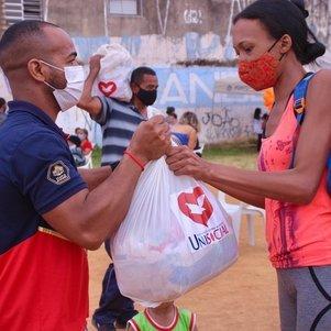 Doações de cestas somaram 543 toneladas de alimentos