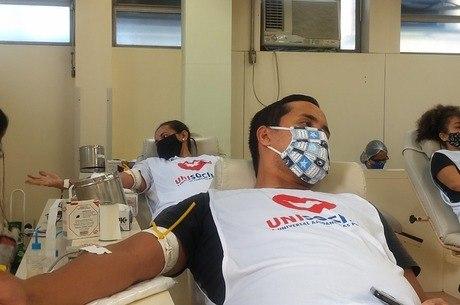 Apenas 1,6% da população doa sangue no país