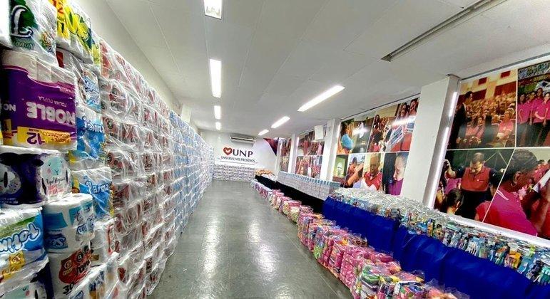 O objetivo da campanha é entregar 50 mil kits
