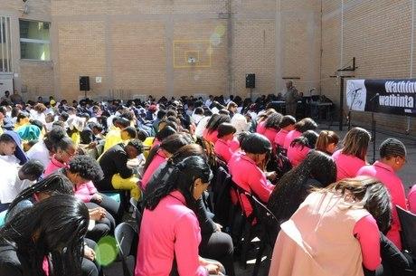 Evento beneficiou 300 mulheres presas na África do Sul