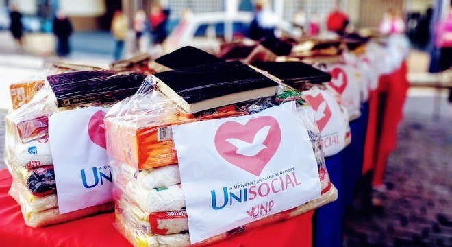 Ação da UNP vai beneficiar famílias