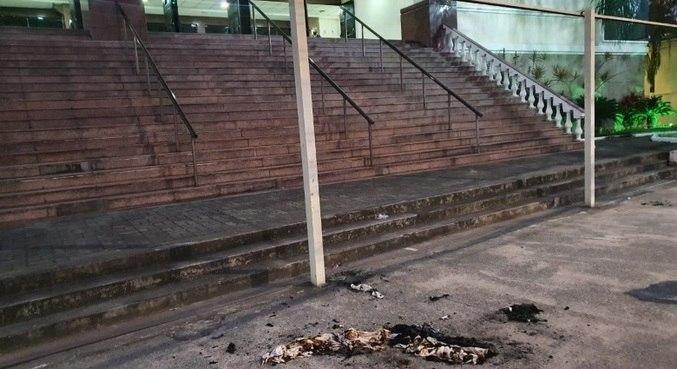 Polícia do ES investiga ataque em tempo da Universal em Vitória (ES)