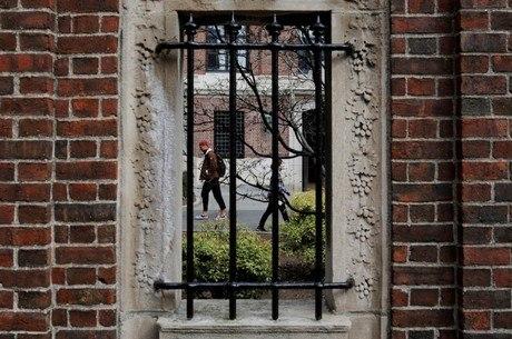 Estudantes em Harvard, nos Estados Unidos