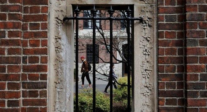 A Universidade de Harvard foi uma das que recorreu contra a decisão o governo