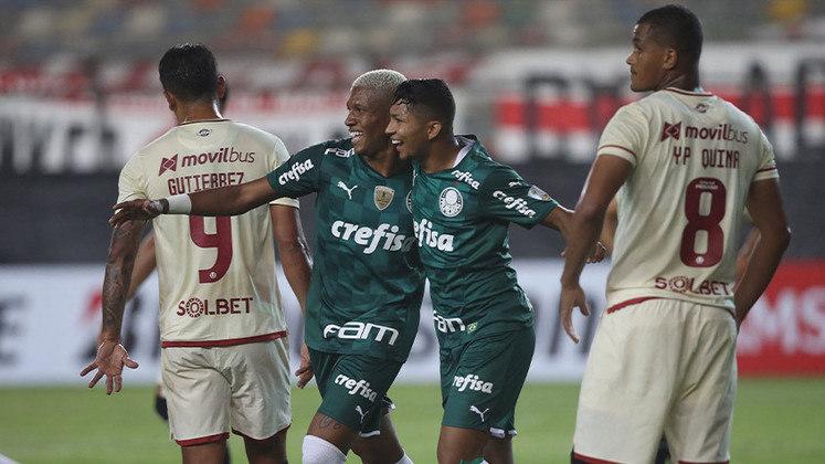 Universitario 2 x 3 Palmeiras - Copa Libertadores 2021 - Fase de Grupos