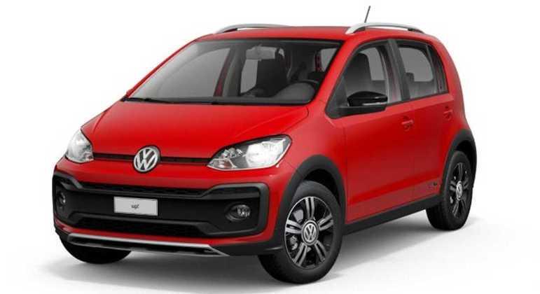 Up! xtreme é a única versão possível do compacto da Volkswagen na linha 2021