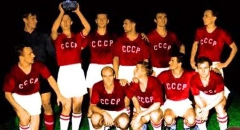 A URSS. primeira campeã de uma Eurocopa