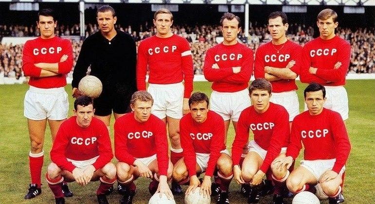 A URSS de 1960, a primeira campeã de uma EuroCopa