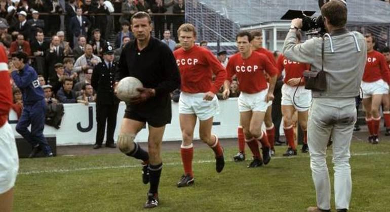 A União Soviética, campeã da Euro1960