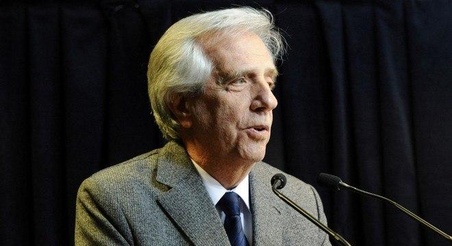 Tabaré Vazquez tinha 80 anos e foi presidente do Uruguai duas vezes