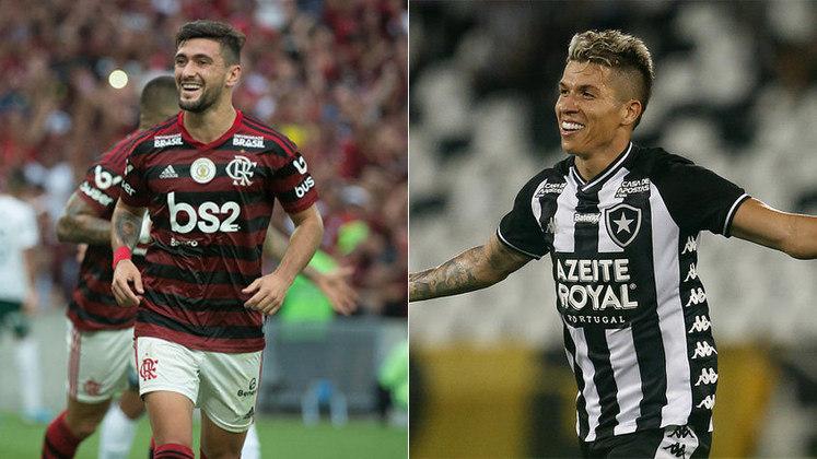Uruguaio da Nação: Arrascaeta foi mais votado do que Bruno Nazário, que fazia um belo início de temporada pelo Botafogo até a paralisação do futebol.