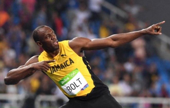 Usain Bolt é um dos maiores nomes do atletismo mundial. Foi tricampeão olímpico nos 100 e nos 200 metros rasos (2008, 2012 e 2016); tetracampeão mundial nos 200 metros rasos e tetracampeão no revezamento 4x100 (2009, 2011, 2013 e 2015).