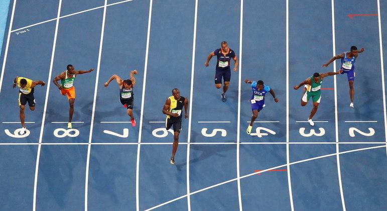 Atleta jamaicano se despediu dos Jogos Olímpicos diante do público brasileiro, na Rio 2016