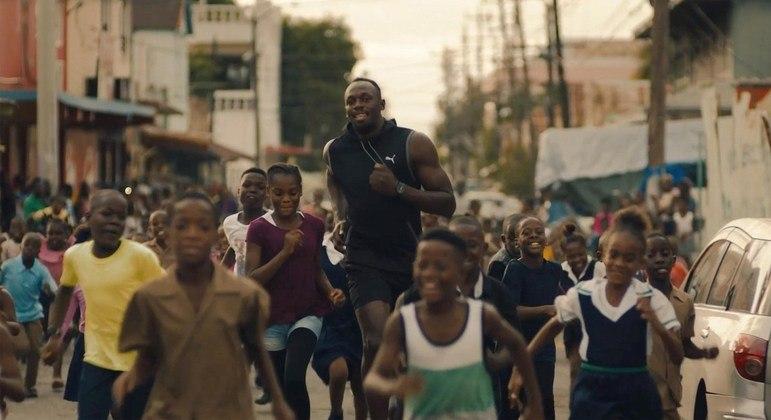 Usain Bolt estrela filme promocional da Olimpíada de Tóquio