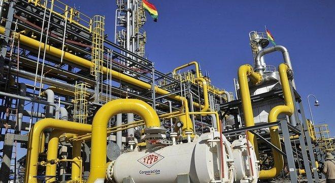 Fonte essencial de recursos para a Bolívia é a venda de gás natural para países do Cone Sul