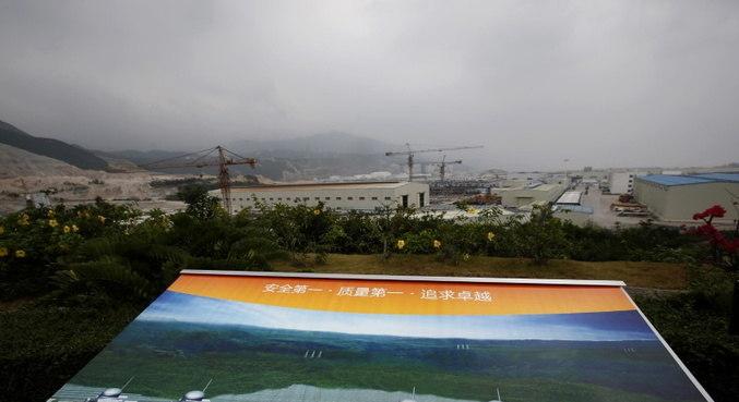 Empresa francesa alerta para risco de vazamento nuclear na China