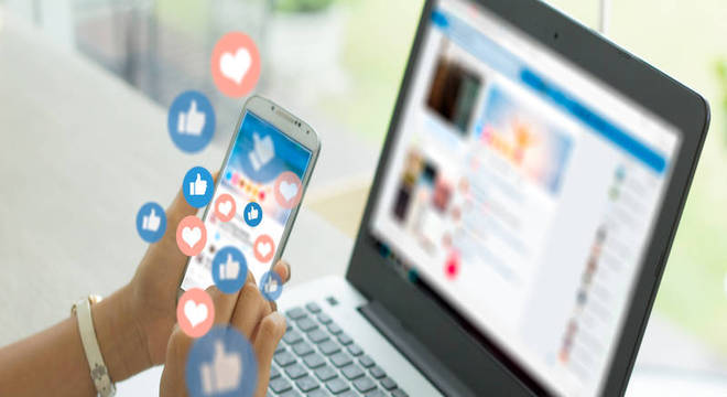 Uso exacerbado das redes sociais