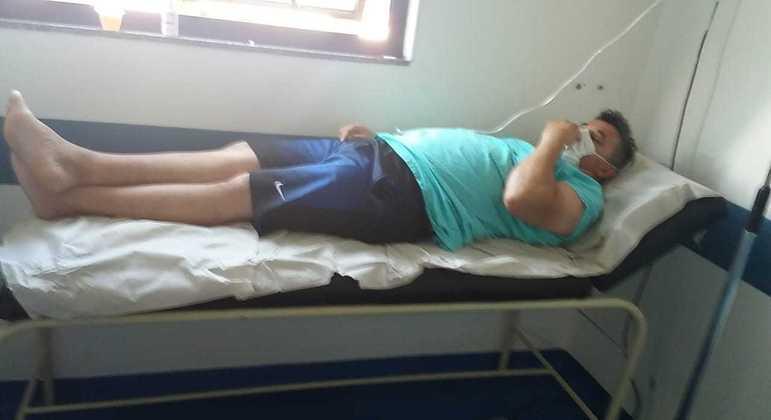 Homem aguarda vaga na UTI 11 dias após perder filho