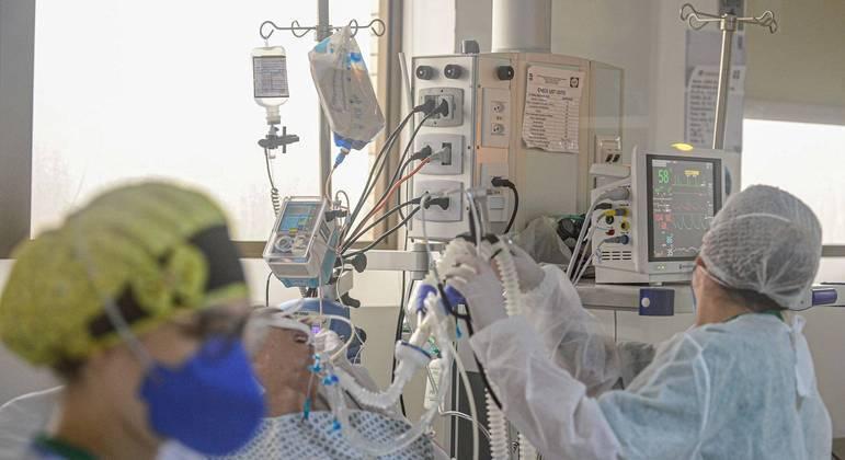 UTI do Hospital Florianópolis, referência para casos de Covid-19 na capital catarinense