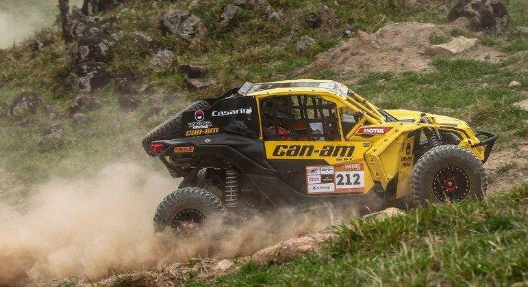 Deninho Casarini que venceu o Rally dos Sertões 2020 também participou do Baja Jalapão