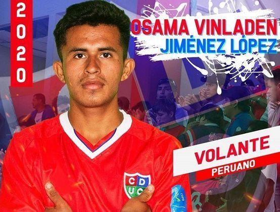 Nomes estranhos ou, no mínimo, inusitados na língua portuguesa já são comuns no futebol. O caso mais novo é de Osama Vinladen, que foi anunciado pelo Unión Comercio, do Peru. Confira a seguir!