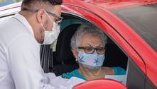 Estado de SP vacina idosos de 63 anos a partir desta quinta-feira (29)