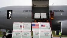 Bolívia recebe um milhão de vacinas doadas pelos EUA via Covax