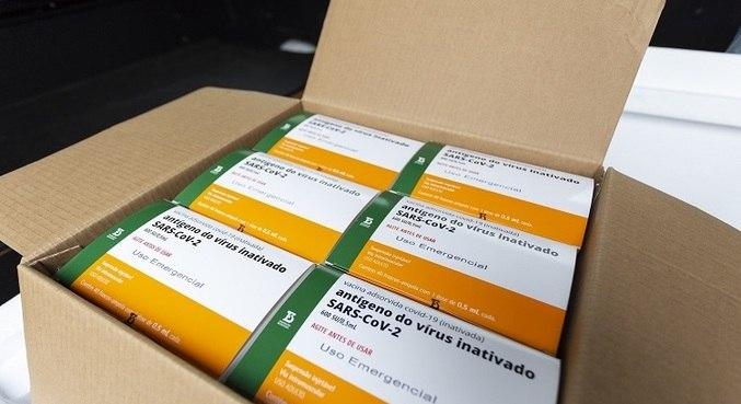 A CoronaVac será produzida no Brasil pelo Instituto Butantan
