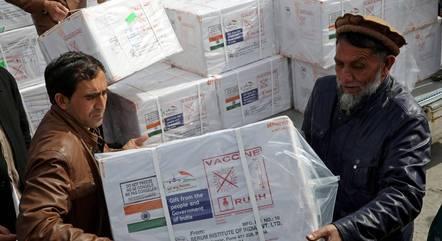Índia se comprometeu com doação de vacinas