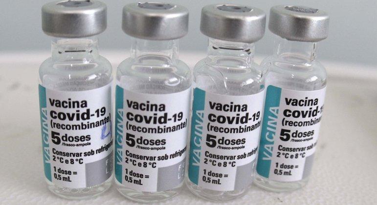 Algumas cidades, como São Paulo, por exemplo, estão sem vacinas da AstraZeneca