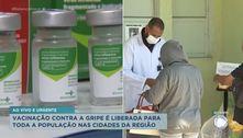 Vacinação contra a gripe é liberada para toda a população na região