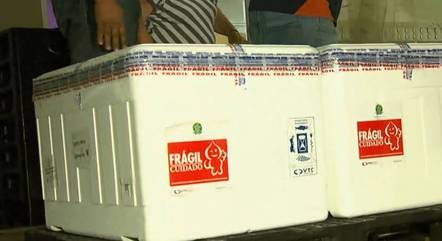 Minas recebe 14º lote de vacinas contra a covid-19