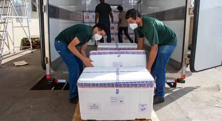 Remessa será entregue no Aeroporto de BH, em Confins