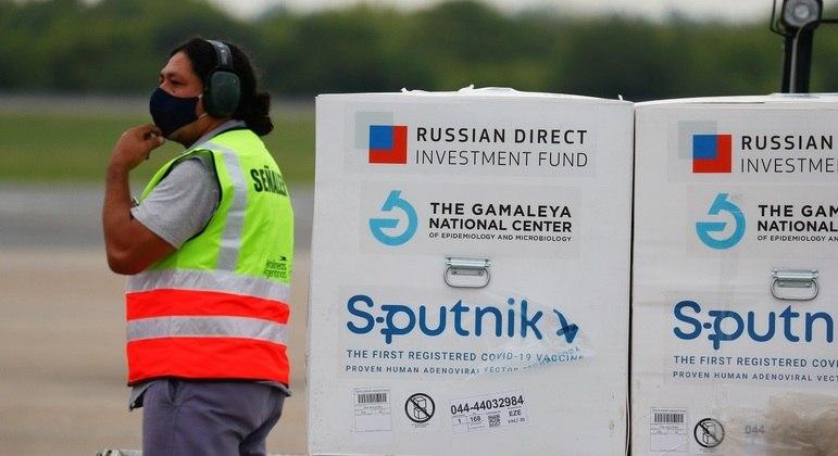 Sputnik V já está em uso na campanha de vacinação da Argentina