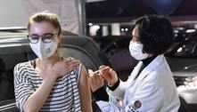 Brasil tem 1/3 dos adultos com vacinação completa contra covid