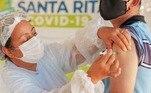 Vacinação Covid Santa Rita